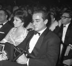 Nastri d'Argento 1963 - Vittorio Gassman e Gina Lollobrigida