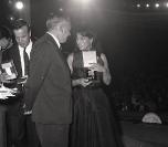 Nastri d'Argento 1966 - Anna Magnani e Franco Zeffirelli