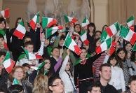 Visita di Napolitano a mostra su Unità d'Italia