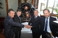 Livio De Santoli, Gianni Alemanno, Fulvio Conti, Luigi Frati