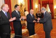 Paolo Scaroni, Giuseppe Recchi e Giorgio Napolitano