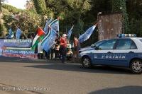 Freedom Flottila: proteste davanti ambasciata greca