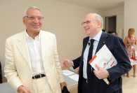 Giorgio La Malfa ed Enrico Cisnetto
