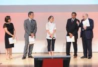 Iole Cisnetto, Giorgia Meloni, Marino Bartoletti ed Enrico Cisnetto