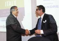 Carlo De Benedetti e Andrea Vianello