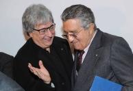 Ermete Realacci e Carlo De Benedetti