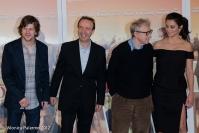 Jesse Eisenberg, Roberto Benigni, Woody Allen, Penélope Cruz