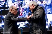 Ennio Morricone e Pino Insegno