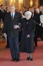 Rita Levi Montalcini con Giorgio Napolitano