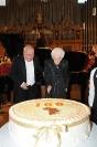 Rita Levi Montalcini festagia al Santa Cecilia