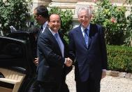 François Hollande, Mario Monti
