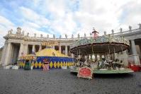 Il circo a Piazza San Pietro