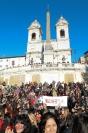 One Billion Rising - Piazza di Spagna-09