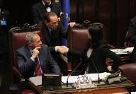 Grasso, Berlusconi e Boldrini