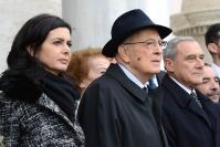 Napolitano, Grasso e Boldrini