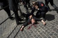 Attentato carabiniere a Piazza Colonna01