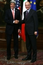 Enrico Letta e John Kerry