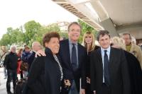 Carla Fendi, Cristian de Sica e Gianni Alemanno