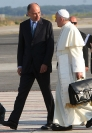 Enrico Letta e Papa Francesco