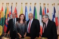 Giorgio Malfatti, Marietta Tidei, Ernesto Samper, Vincenzo Scotti