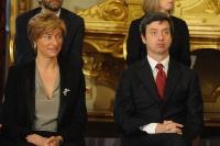 Roberta Pinotti e Andrea Orlando