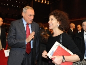 Luisa Todini e Piero Grasso