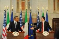 Barack Obama e Matteo Renzi