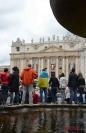 Fedeli a Piazza San Pietro