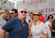 Raffaele Bonanni e Annamaria Furlan