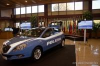 Nuovo look per l'auto della polizia