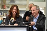 Alessandra Sardoni e Marco Travaglio