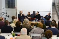 Edoardo Nesi, Simonetta Fiori, Gabriele Pedullà e Stefano Petrocchi