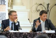Raffaele Cantone Matteo Renzi