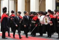 Matteo Renzi e Juan Carlos Varela