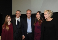 Aurora Ruffino, Raffaele Ranucci, Walter Veltroni, Alice Ranucci e Marida Lombardo Pijola