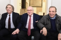 Carlo Freccero, Enrico Cisnetto e Enrico Montesano