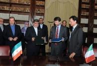 Ali Jannati e Dario Franceschini