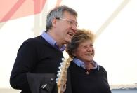 Maurizio Landini e Susanna Camusso