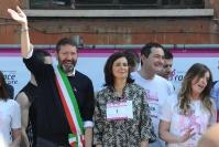 Ignazio Marino, Laura Boldrini e Maria Elena Boschi