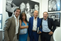Massimo Papi, Laura De Luca, Pippo Franco e Maurizio Riccardi