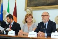 Ignazio Marino, Luigina Di Liegro e Marco Rossi Doria