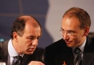 Enrico Letta e Corrado Passera