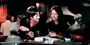 "Diane Keaton con Richard Gere in ""In cerca di Mr Goodbar"" di Richard Brooks"