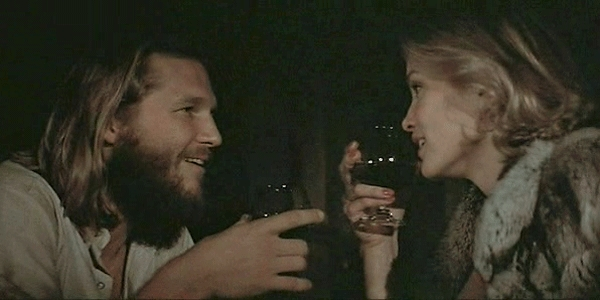 Jeff Bridges con Jessica Lange in King Kong di John Guillermin