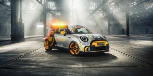 MINI Electric Pacesetter è la nuova Safety Car di Formula E