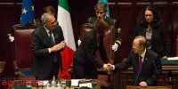 Piero Grasso, Laura Boldrini e Ban Ki-Moon