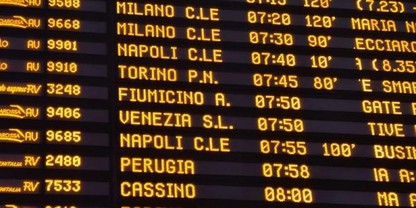 Terremoto a Firenze, ritardi per i treni Alta velocità